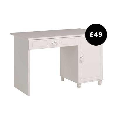 Parisot Vogue White Desk
